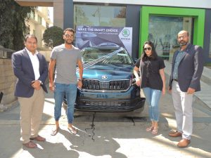 Recently, Stuart Binny and wife Mayanti Langer acquired the all new SKODA KODIAQ, with a new engine range for the company's large SUV.